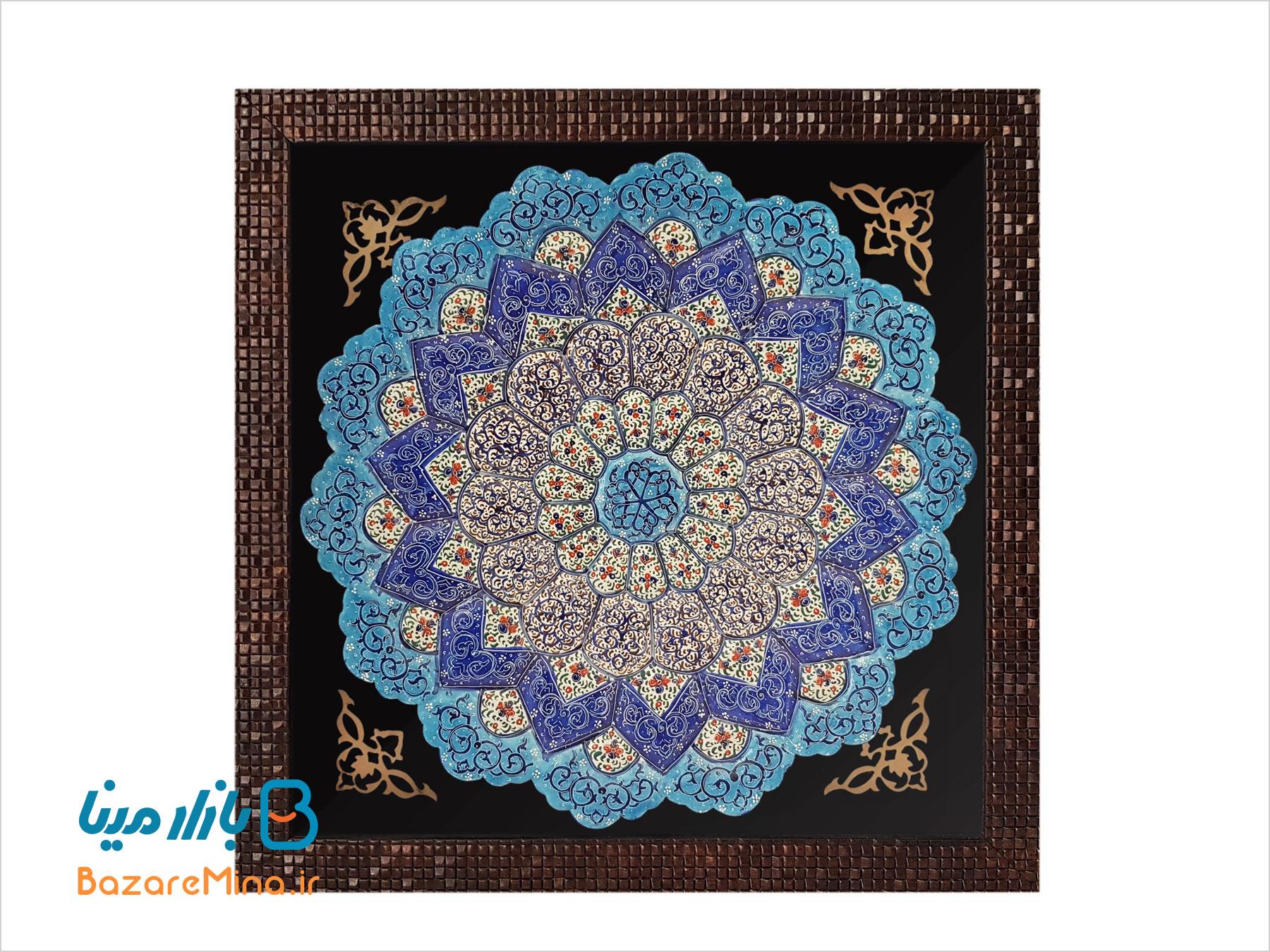 قاب مینا کاری اصفهان
