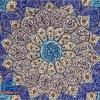 قاب بشقاب میناکاری اصفهان قطر 30 سانتی متر