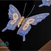 قاب مینا کاری سه پروانه
