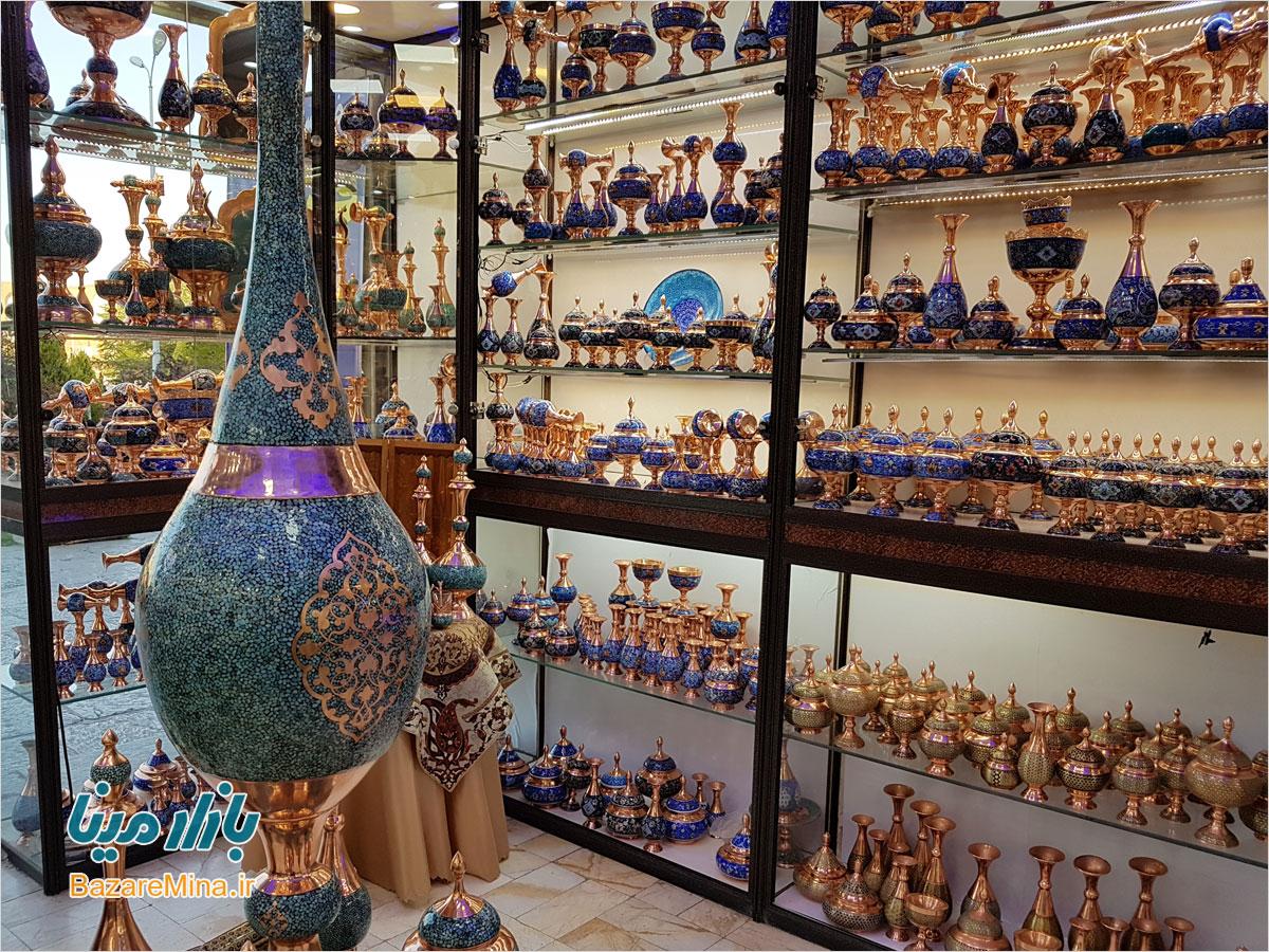 عکس بازار صنایع دستی اصفهان