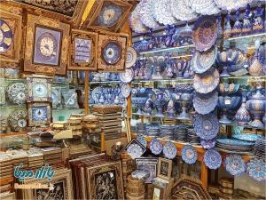 بازار میناکاری اصفهان