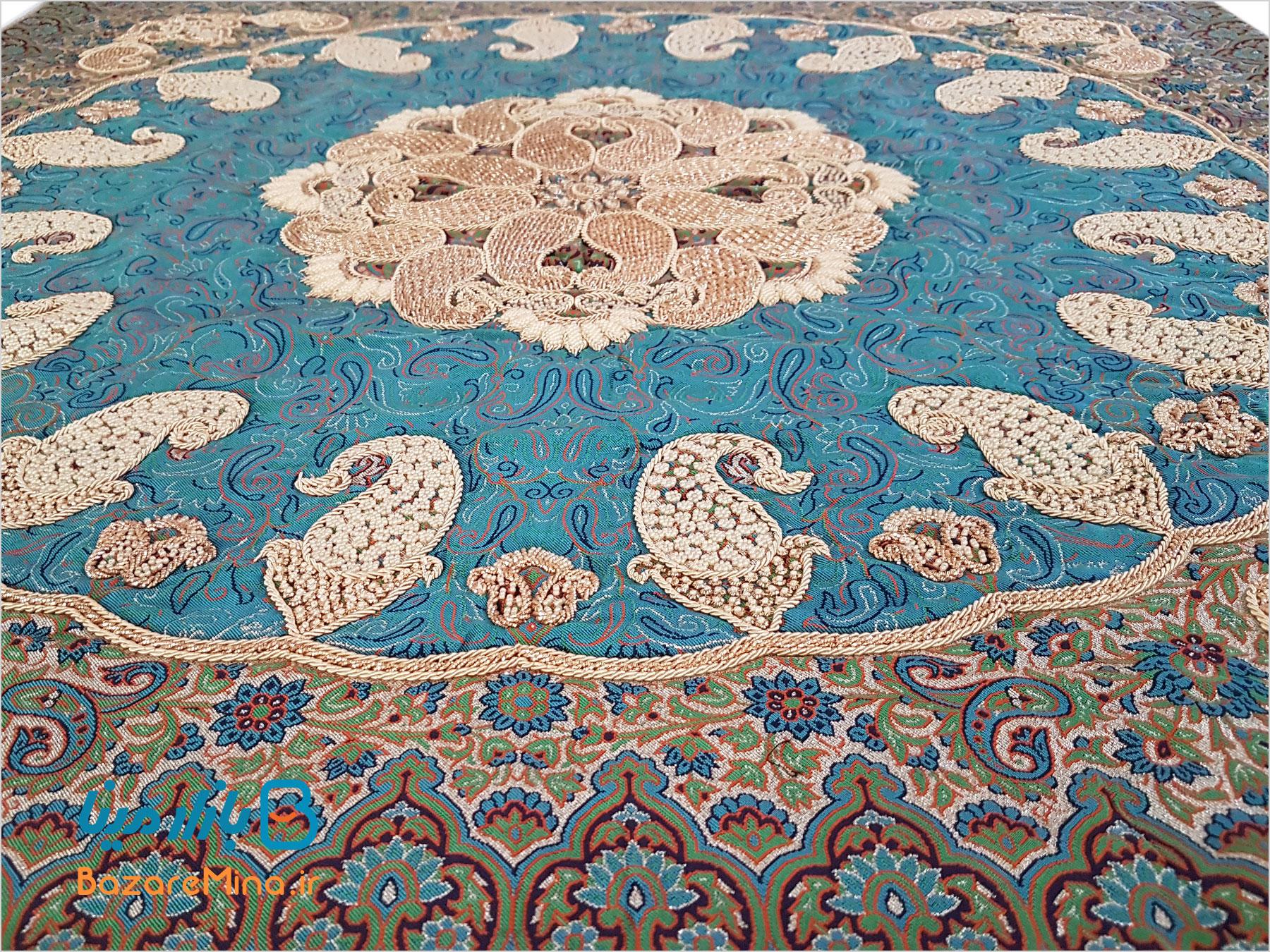 رومیزی ترمه اصفهان