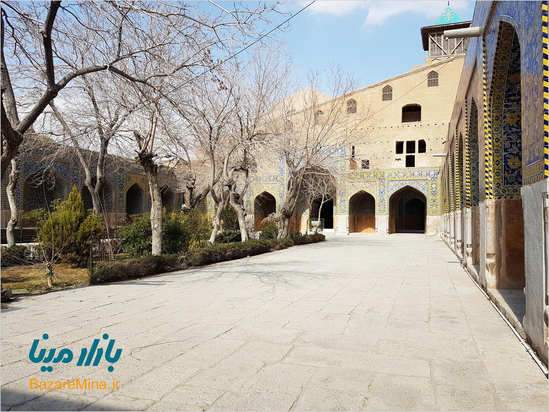 مسجد امام اصفهان، شاخصهی مهم معماری دوران صفوی
