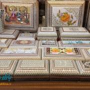 خاتم کاری اصفهان هنر سنتی نصف جهان