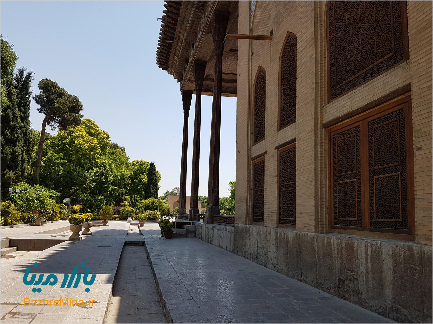 عکس چهلستون در اصفهان