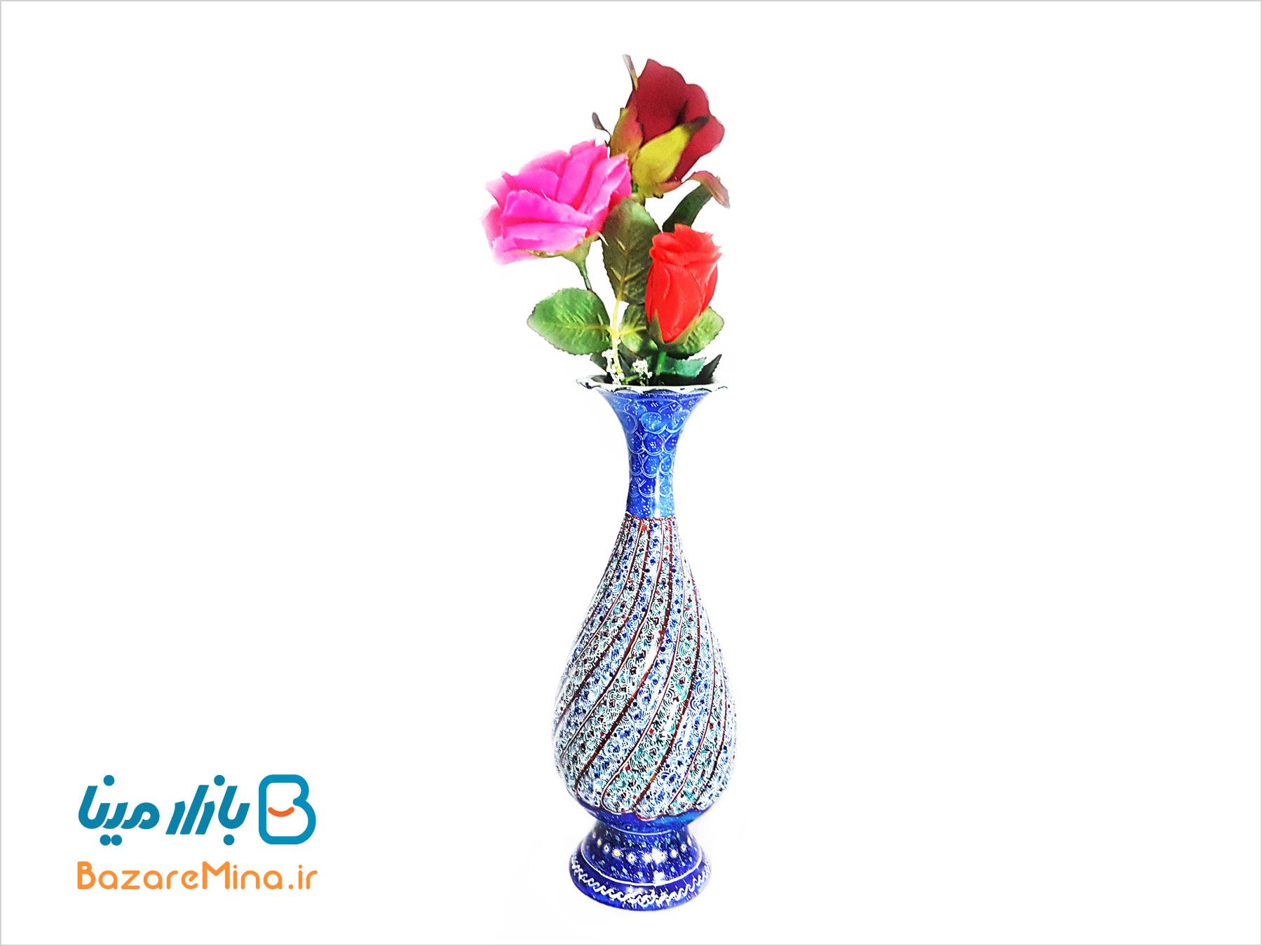 گلدان 20 سانتی میناکاری
