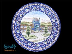 استاد هنر میناکاری اصفهان