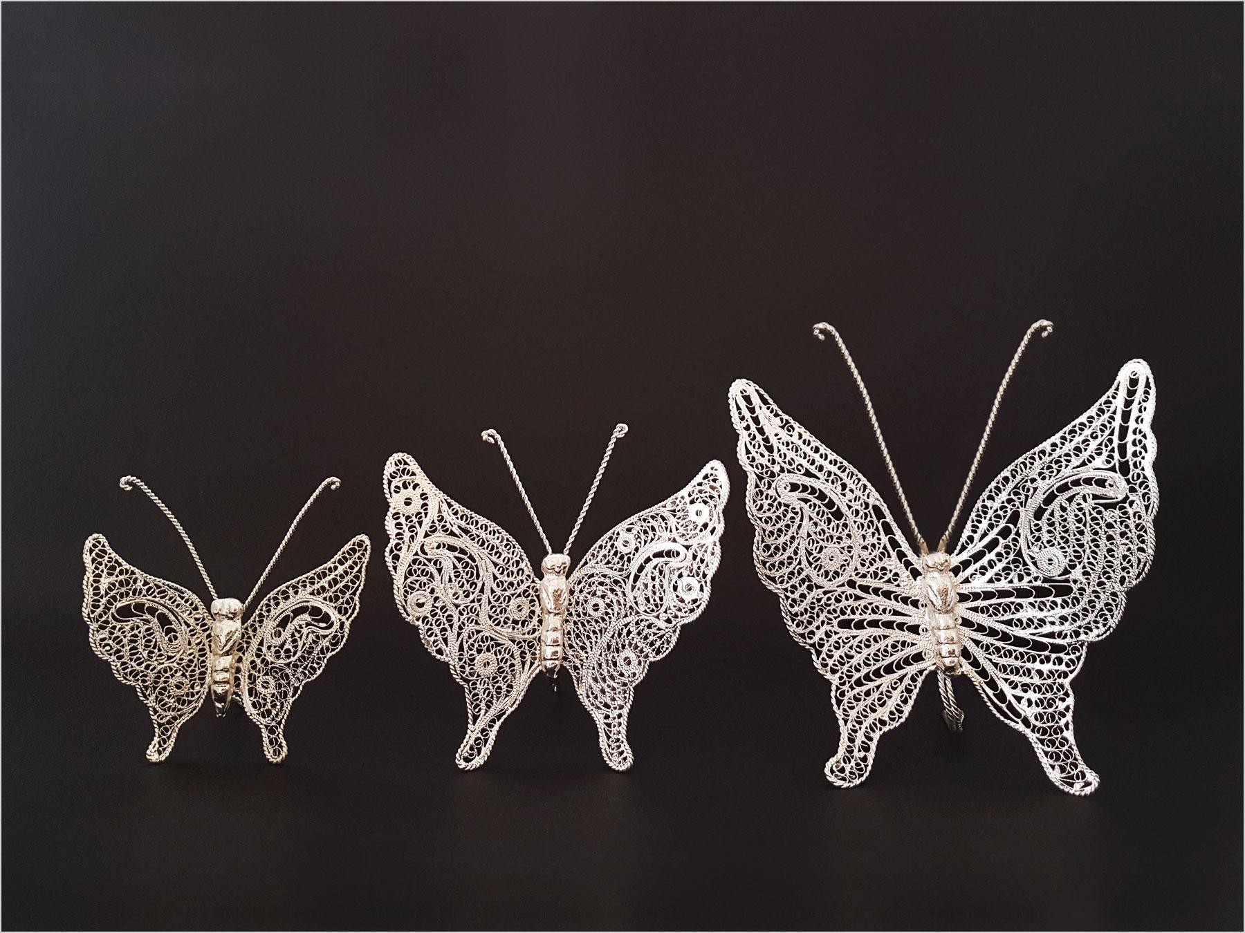 ست پروانه ملیله کاری