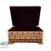 جعبه خاتم کاری شده اصفهان مخصوص جواهرات