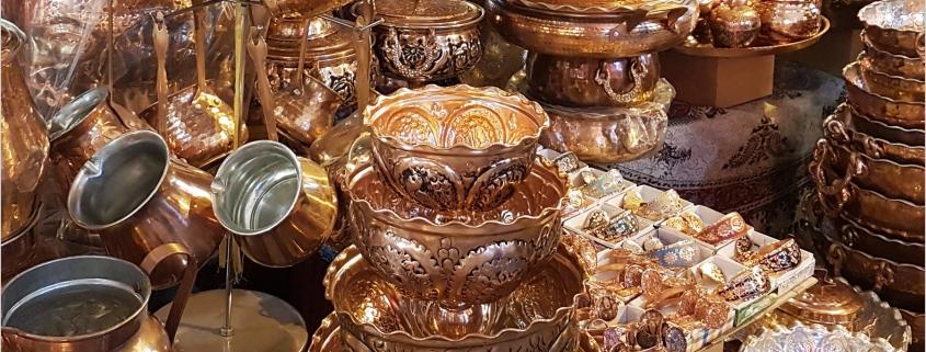 ظروف مسی اصفهان