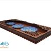 تابلو چوبی سه بشقاب میناکاری اصفهان