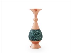 گلدان فیروزه کوبی اصفهان ارتفاع 20 سانتی متر