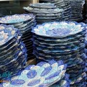 فروش عمده بشقاب میناکاری اصفهان