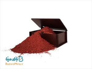 رنگ قهوه ایی مخصوص میناکاری روی مس