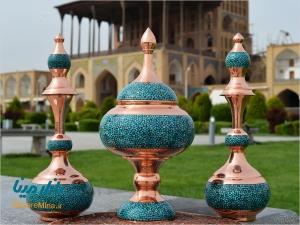Firoozeh Koobi (Turquoise) of Isfahan