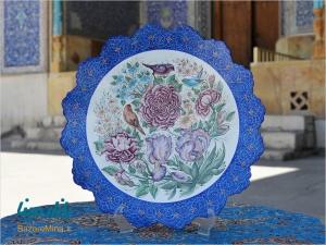 میناکاری استاد اسماعیلی در اصفهان