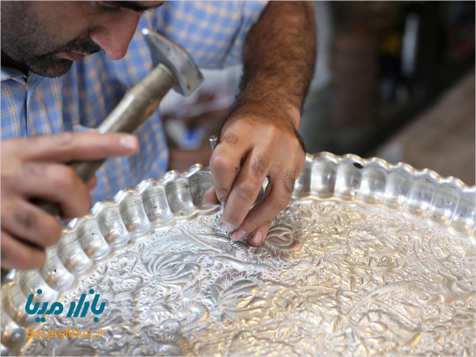Toreutics of Isfahan