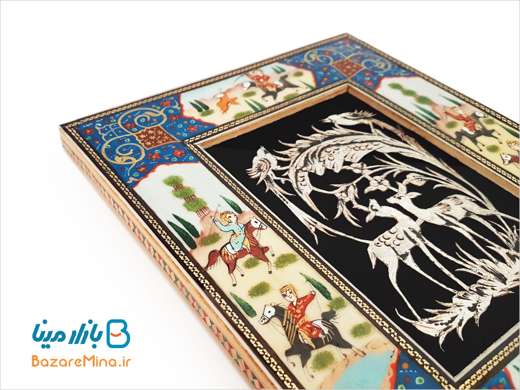 تابلوی قلمزنی اصفهان