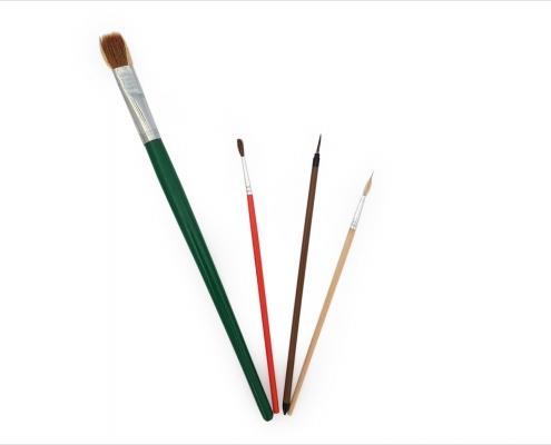 قلم موی میناکاری