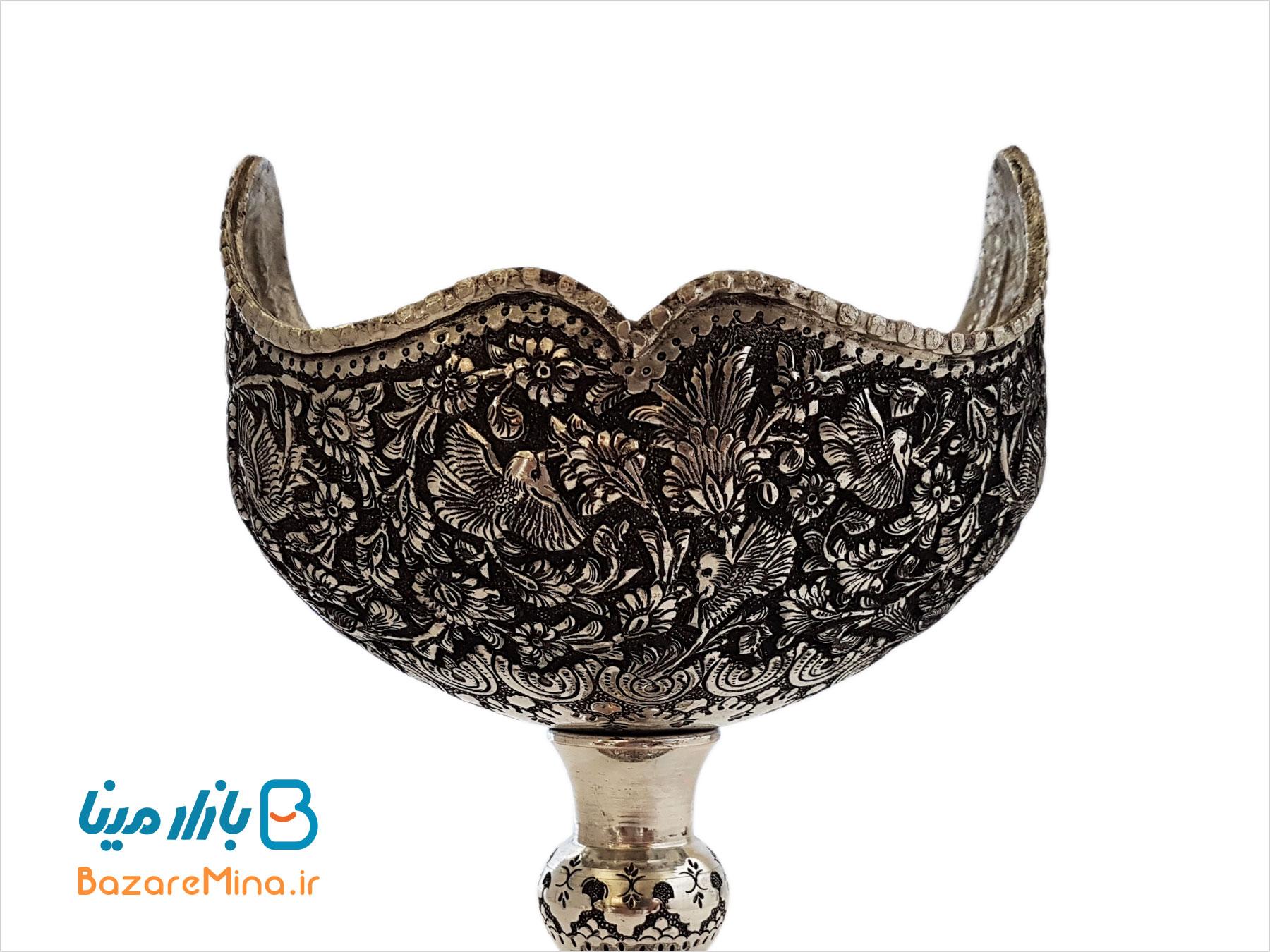کشکول قلم زنی شده اصفهان