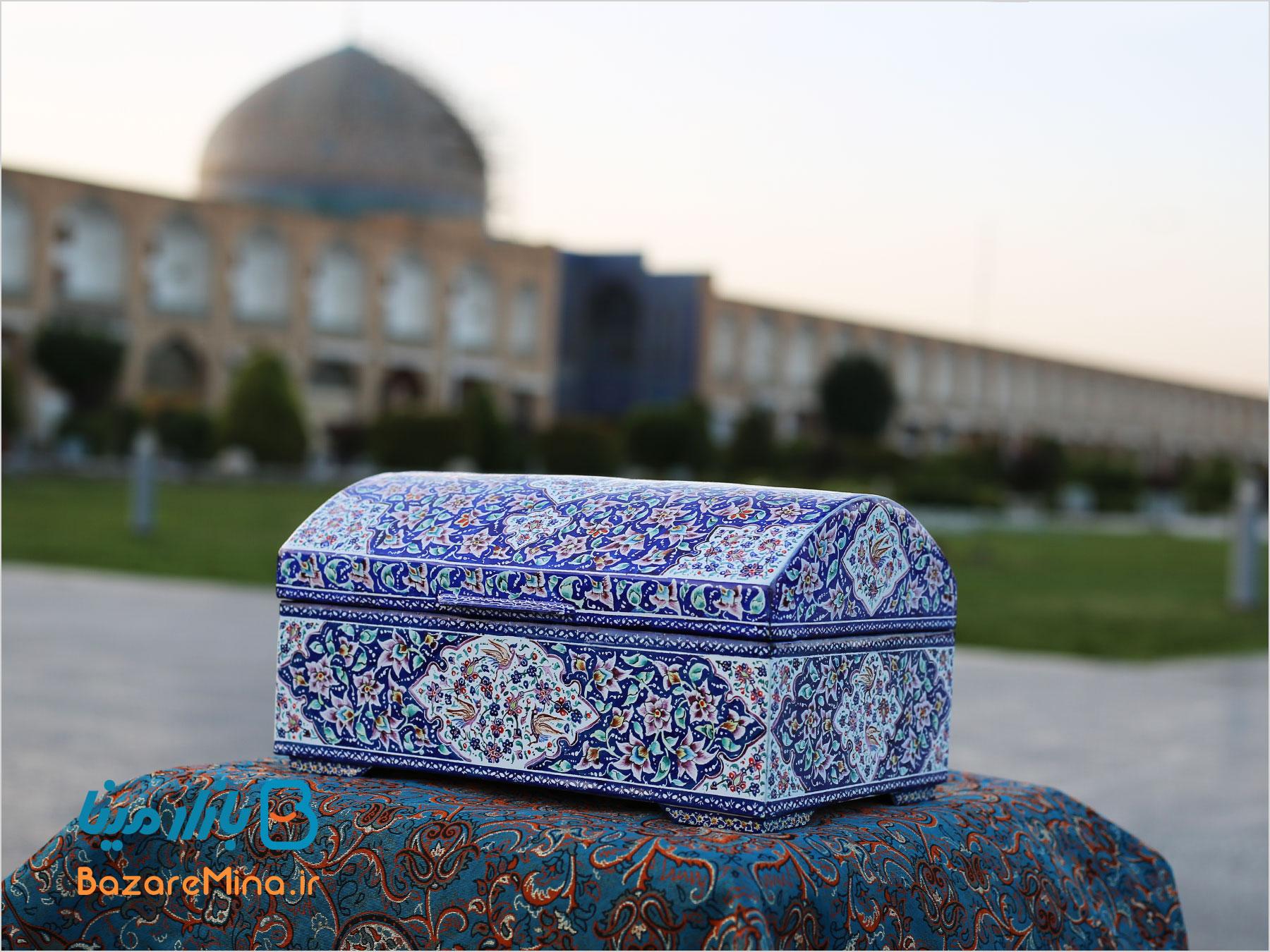 صندوق میناکاری اصفهان