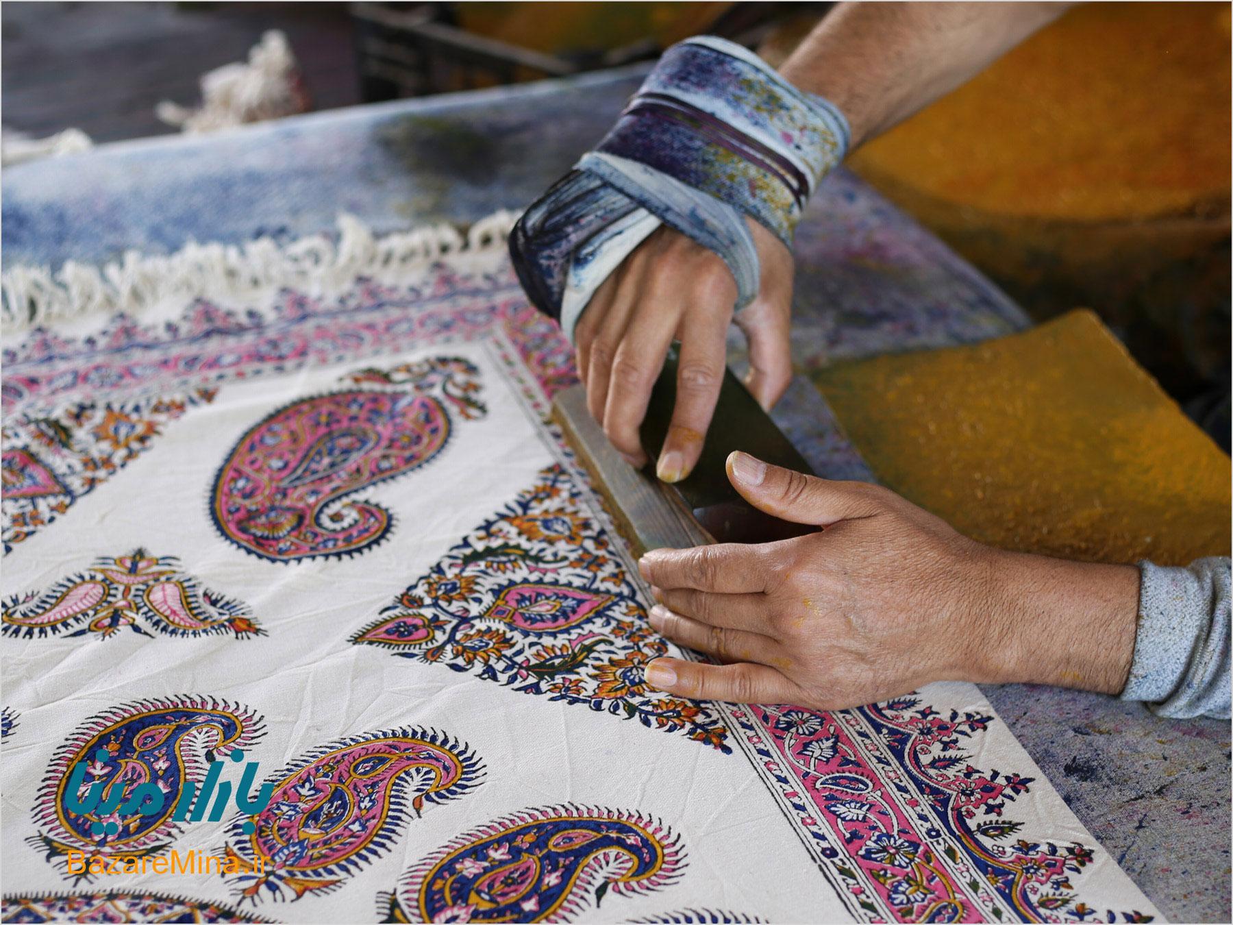 Introduction of Ghalamkari Cloth