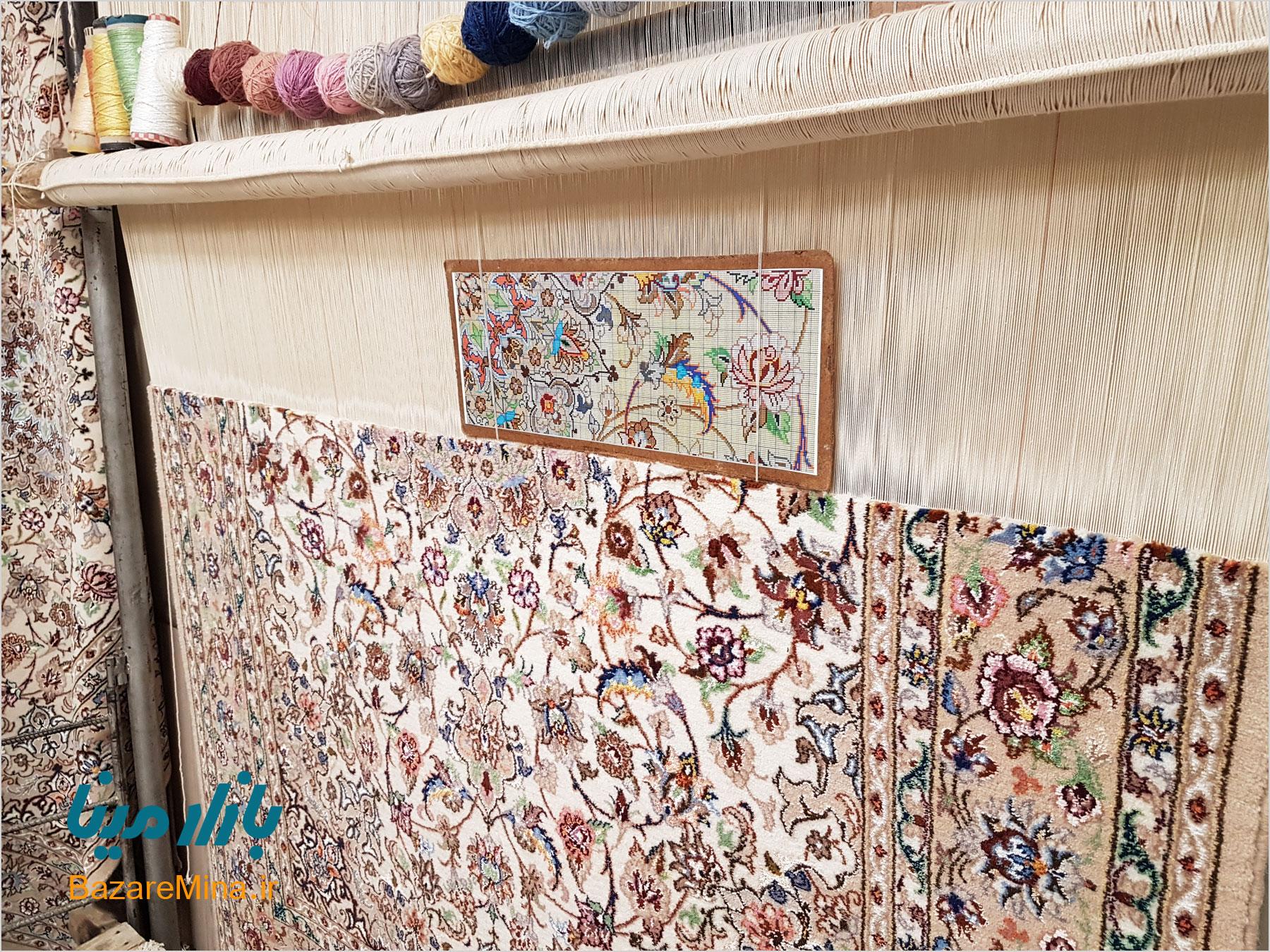 هنر قالی بافی