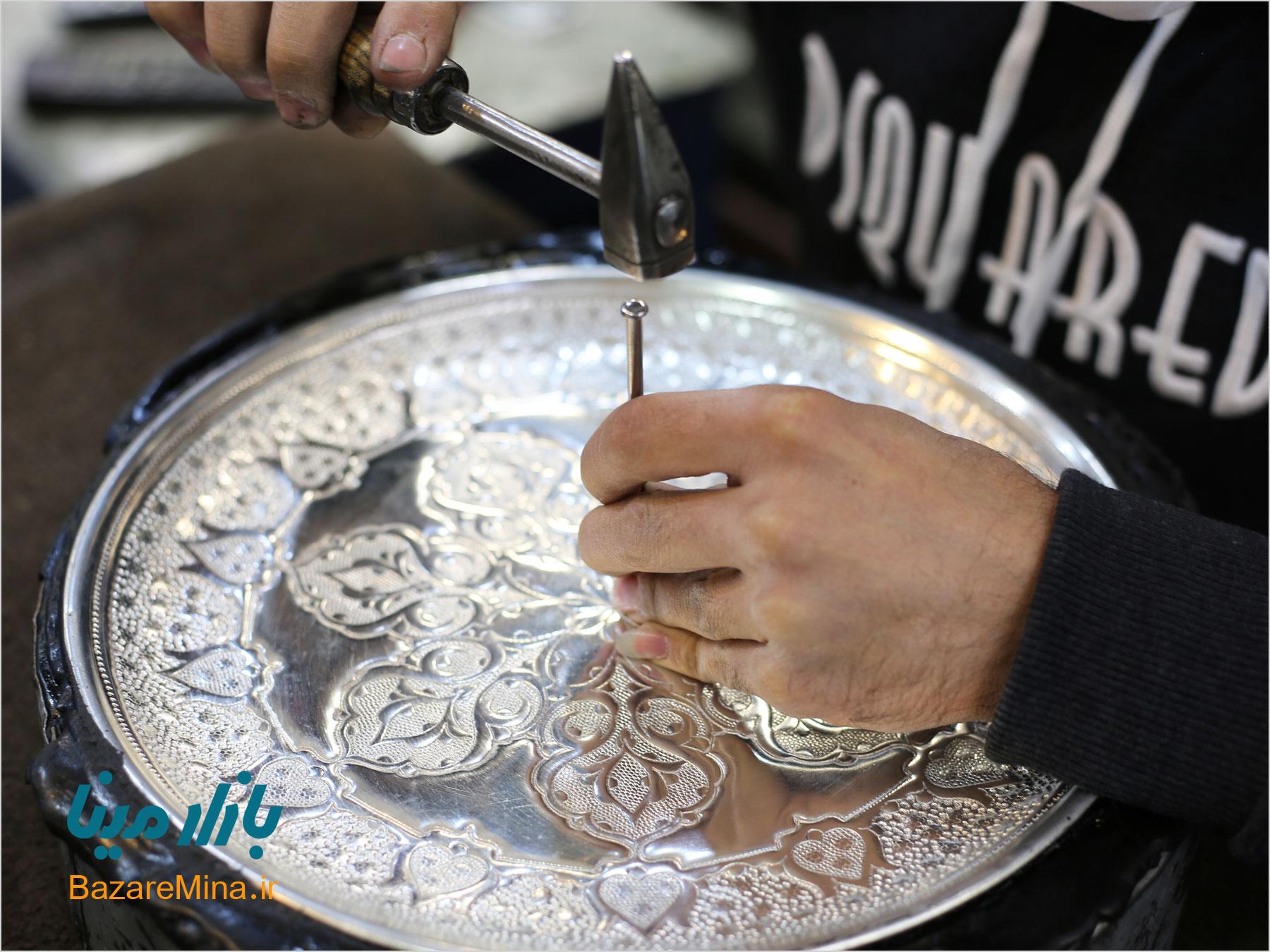 هنر قلم زنی در شیراز