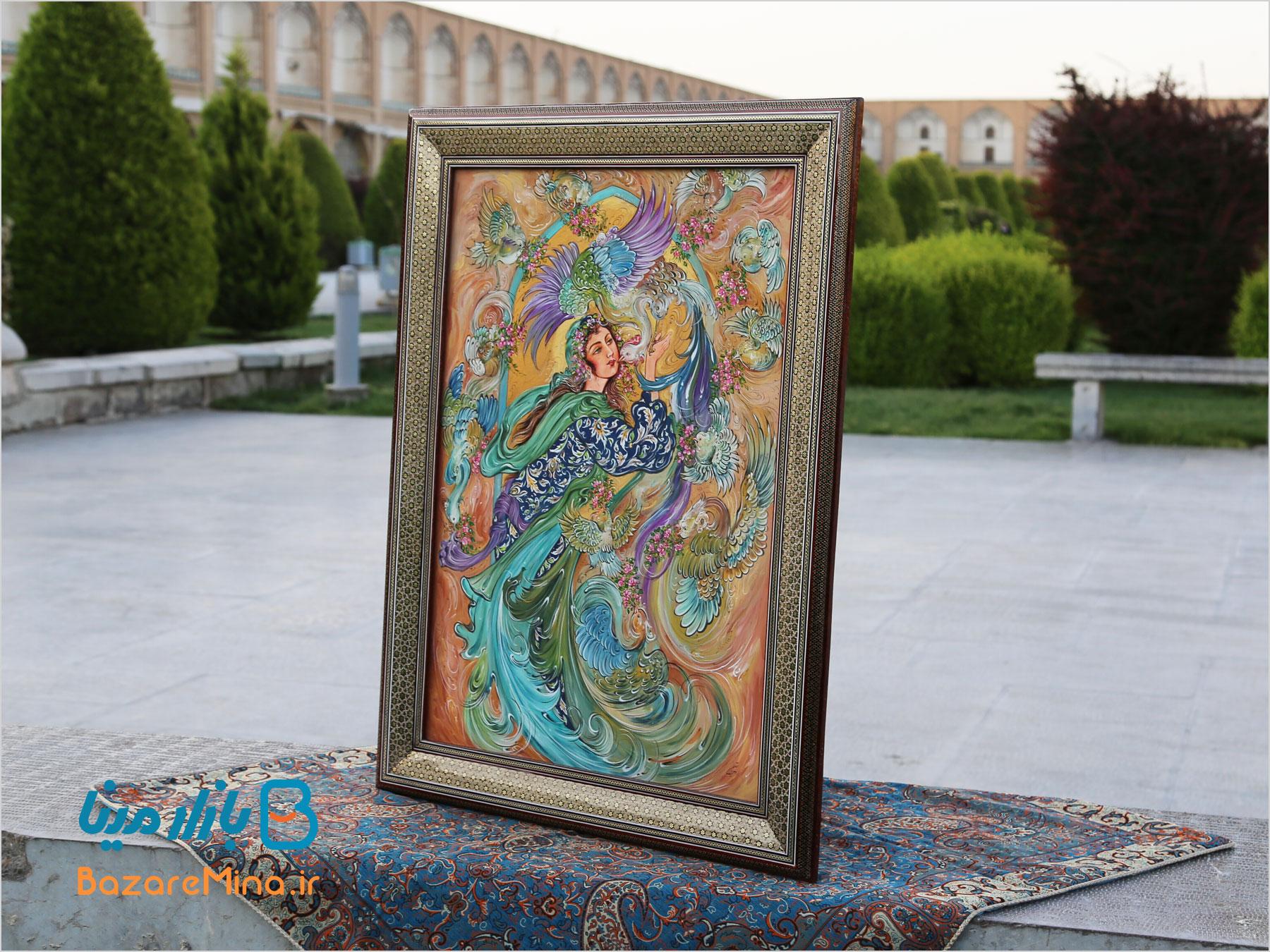 تابلو مینیاتور اصفهان