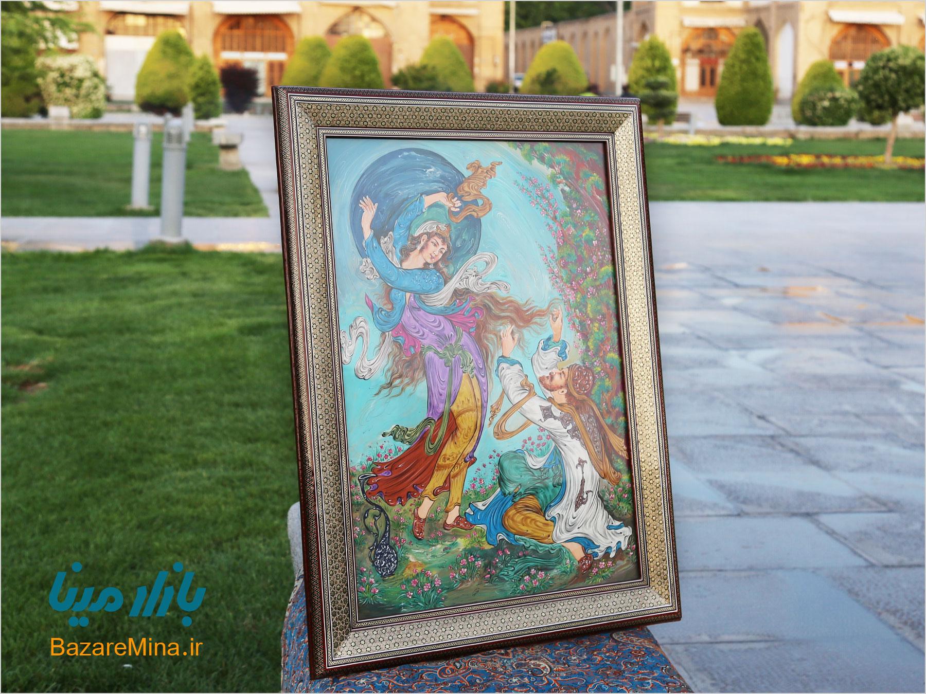 نقاشی مینیاتور اصفهان