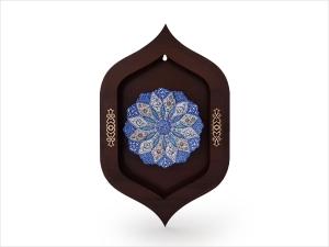 تابلو چوبی میناکاری اصفهان